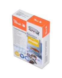 Peach Laminating Film 75x105mm Size (Pack of 100 Pcs.) 125 Micron