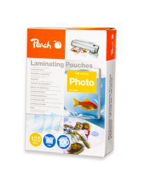 Peach Laminating Film 80x120mm Size (Pack of 100 Pcs.) 125 Micron