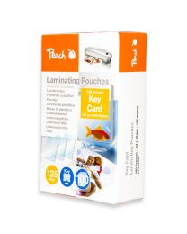 Peach Laminating Film 64x99mm Size (Pack of 100 Pcs.) 125 Micron