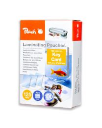 Peach Laminating Film 67x99mm Size (Pack of 100 Pcs.) 125 Micron